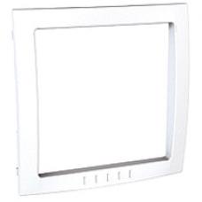 biely vnútorný dekoračný rámik pre rámiky Schneider Unica colors MGU4.000.18