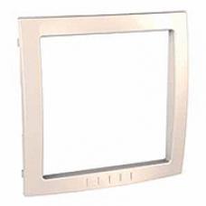 slonovinový vnútorný dekoračný rámik pre rámiky Schneider Unica colors MGU4.000.25