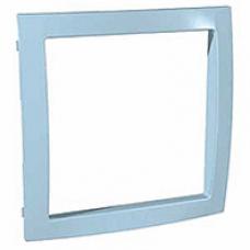 azúrovomodrý vnútorný dekoračný rámik pre rámiky Schneider Unica colors MGU4.000.34