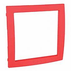 červený vnútorný dekoračný rámik pre rámiky Schneider Unica colors MGU4.000.43