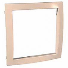 béžový vnútorný dekoračný rámik pre rámiky Schneider Unica colors MGU4.000.44