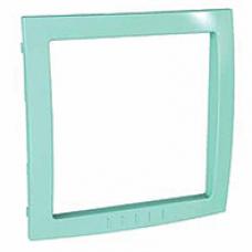 svetlozelený vnútorný dekoračný rámik pre rámiky Schneider Unica colors MGU4.000.48