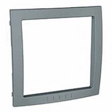 sivý vnútorný dekoračný rámik pre rámiky Schneider Unica colors MGU4.000.58