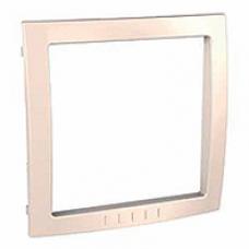 krémový vnútorný dekoračný rámik pre rámiky Schneider Unica colors MGU4.000.59
