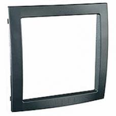 grafitový vnútorný dekoračný rámik pre rámiky Schneider Unica colors MGU4.000.62