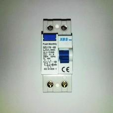 prúdový chránič XBS FI 40A/30mA 2P