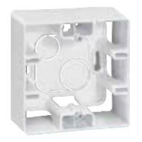 krabica pre povrchovú montáž Legrand Niloé 664798 biela