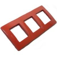 červený 3 rámik Legrand Niloé 665023