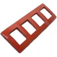 červený 4 rámik Legrand Niloé 665024