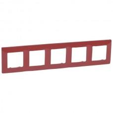 červený 5 rámik Legrand Niloé 665025