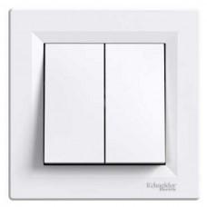vypínač č.5 Schneider Asfora EPH0300121 biely kompletný
