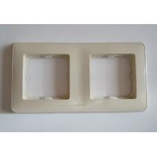 dvojrámik Legrand Cariva 773652 biely