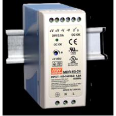 zdroj Mean Well modulárny MDR-60-12 pre LED 230V/12V DC 60W na DIN lištu