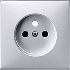 kryt aluminium pre zásuvku Schneider Merten MTN2530-4060 system Design