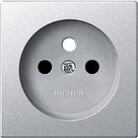krytka aluminium Schneider Merten MTN2530-0460 pre zásuvku