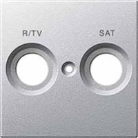 kryt aluminium pre TV/R+SAT zásuvku, MTN299260