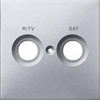 kryt aluminium pre TV/R+SAT zásuvku, MTN299660