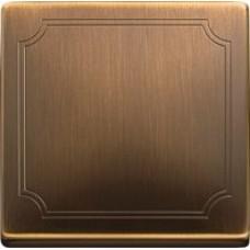 kryt antique brass pre vypínač č. 1, 6, 7 a tlačidlo Schneider Merten MTN412143 System Design