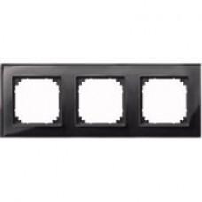 3rámik Onyx Black Merten M-Plan sklo MTN404303 system-M