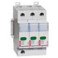 zvodič prepätia B+C Legrand 412252 3P zvodová kapacita 25kA