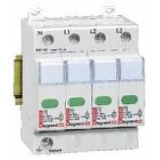 zvodič prepätia C Legrand 412223 4P štandardná zvodová kapacita 20kA
