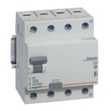 prúdový chránič Legrand 402062 RX3 4P 25/4/0.03 AC