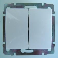 vypínač č.5 Legrand Valena neutral 774405 biely