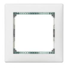 biely/priehľadný prúžok 1 rámik Legrand Valena neutral 774461