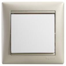 perleťový jemný 1 rámik Legrand Valena neutral 770471