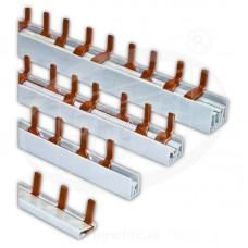 prepojovacia lišta na ističe 1fázová typu I 12 modulový (0,21m) Pollmann 1301021