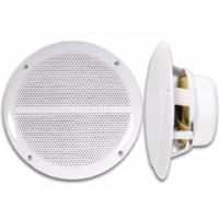 2ks reproduktory do podhľadu vhodné do vlhkých priestorov 120W Velleman VDSWPS6N biele