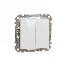 vypínač č.5 biely Schneider electric Sedna design SDD111105