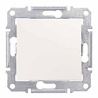 jednopólový vypínač č.1, IP44, 230V,10A,biely, SDN0100321