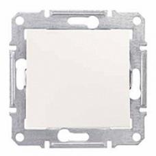 tlačidlo, 230V,10A,IP20 krémové, SDN0700123