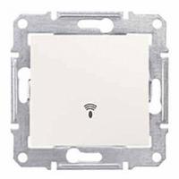 tlačidlo so symbolom zvončeka biele Schneider electric Sedna SDN0800121