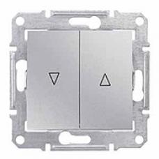 žalúziový ovládač s elektronickým blokovaním, 230V,IP20 hliník, SDN1300160