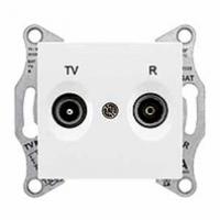TV+R zásuvka koncová biela Schneider Sedna SDN3301621