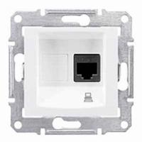 dátová zásuvka 6 STP biela Schneider Sedna SDN4900121