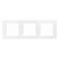 3rámik biely Schneider electric Sedna SDN5800521 vodorovný