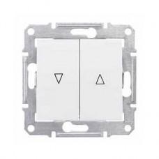 žalúziový ovládač s elektronickým blokovaním krémový Schneider electric Sedna SDN1300123