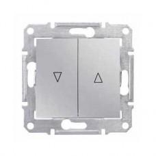 žalúziový spínač s mechanickým blokovaním, 230V,IP20 hliník, SDN1300360