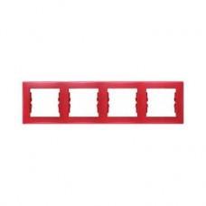 4rámik červený Schneider electric Sedna SDN5800741