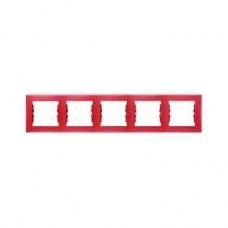 5rámik červený Schneider electric Sedna SDN5800941