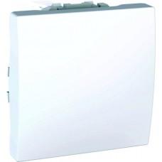 vypínač č.7 Schneider Unica MGU3.205.18 polárny biely