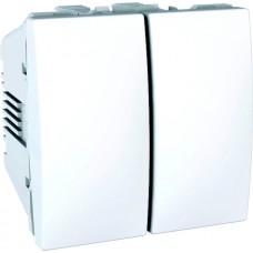 vypínač č.5 Schneider Unica MGU3.211.18 polárny biely