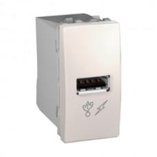 USB nabíjací konektor Schneider Unica MGU3.428.25 slonovinový
