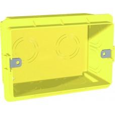 montážna krabica pod omietku pre 3 polmoduly, MGU8.603