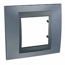1rámik metalická šedá Schneider Unica Top MGU66.002.297 pre grafitové vypínače