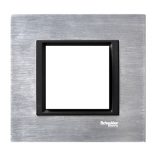 1rámik ice aluminium Schneider Unica Class MGU68.002.7A1 pre grafitové vypínače