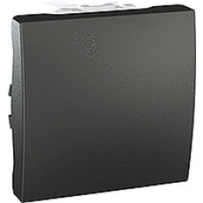 vypínač č.1 grafitový modul 250V, 10A, IP20, MGU3.201.12